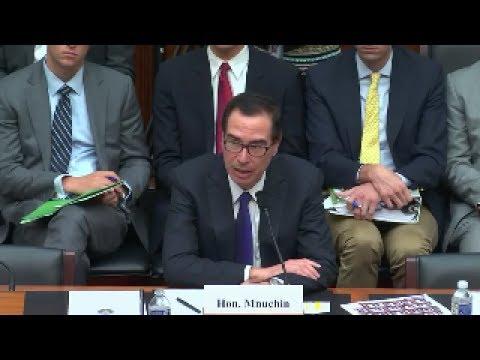 "072717 - Hearing: ""The Annual Testimony of the Secretary of the Treasury..."" (EventID=106344)"