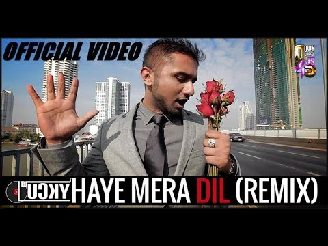Haye Mera Dil (remix) - Dj Lucky (ft.yo Yo Honey Singh) | Vj Harshil Palsana Visuals[official Video] video