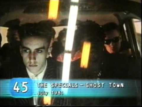 The Specials / Ghost Town No.45 (Top 100 UK Singles)