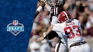 Jonathan Allen College Highlights & 2017 Draft Profile | NFL