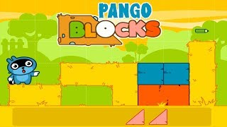 Pango Blocks Game Review #4 - Great puzzles for kids.