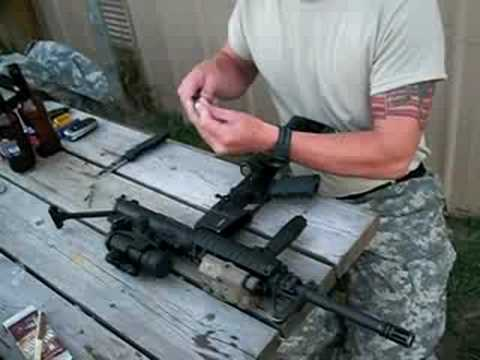 m4 field strip and assembly - YouTube