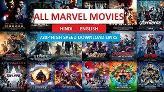 All Marvel Movies Hindi Dubbed (2008 - 2018)