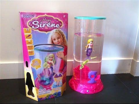 test magic sirene et aquarium 4 7 ans sir ne magique choix de parents avis youtube. Black Bedroom Furniture Sets. Home Design Ideas