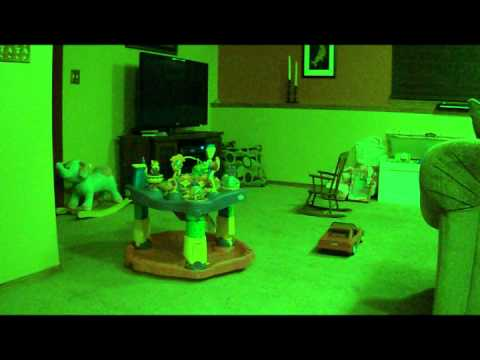 Ghost Children In Our Basement Caught On Tape Destroying