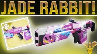 """Destiny 2 Jade Rabbit. (Wow........Just Wow.). What Exotics """"Should"""" Come back To D2??"""