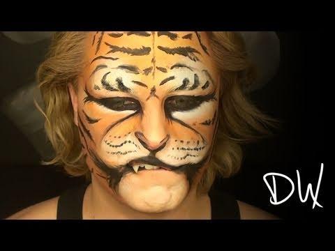 Jungle Tiger Makeup Visual