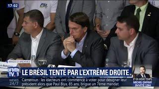 Qui est Jair Bolsonaro, favori du premier tour de l'élection présidentielle au Brésil ?