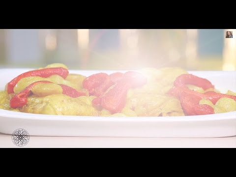 Choumicha : Tajine de poulet aux petits oignons شميشة : طاجين الدجاج بالبصل الصغير