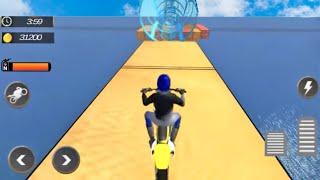Jogos de Motos Para Crianças - Tricky Bike Trail Stunts - Motos de Corrida