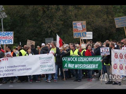 protest - mieszkańcy Otwocka kontra śmieciowe imperium