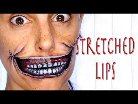 Stretched lip special effects | Silvia Quiros