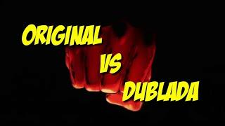 One punch man -Abertuta Original VS abertura Dublada