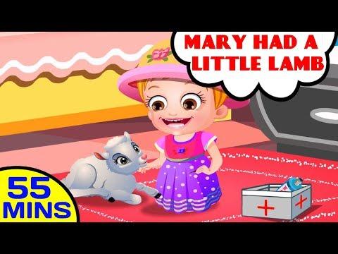 Mary Had A Little Lamb | Nursery Rhymes Collection by Baby Hazel Nursery Rhymes
