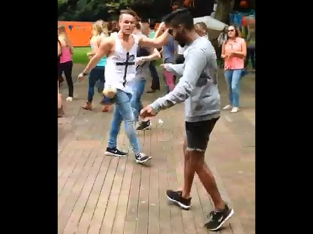 how to shuffle dance edm