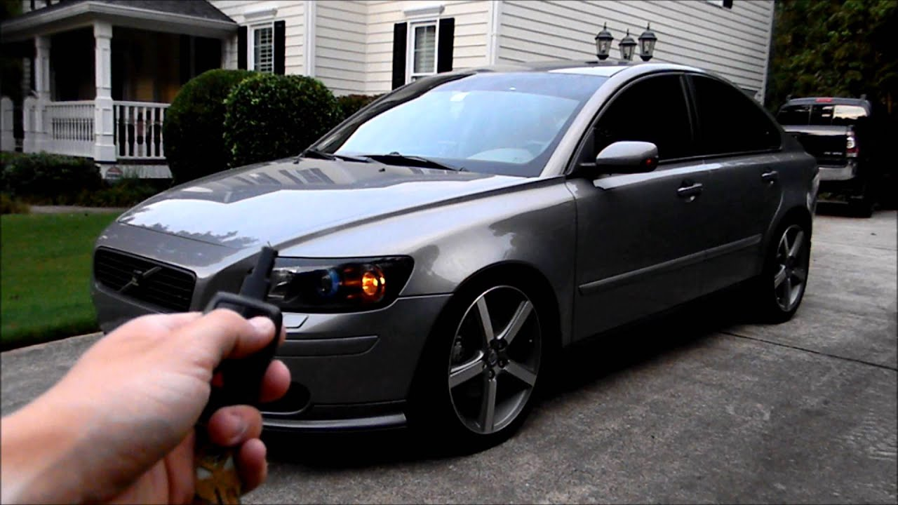 Volvo S40 How To Roll Down All Windows With The Key Fob