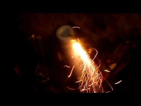 самодельная 32 мм римская свеча из водопроводной трубы