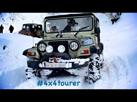 Mahindra Thar- Snow Drive Expedition 2014 , Narkanda