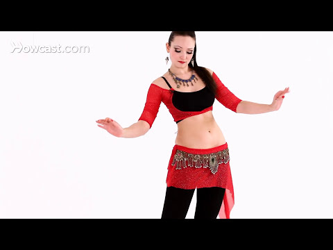 How to Do a Figure 8 with a Twist | Belly Dance