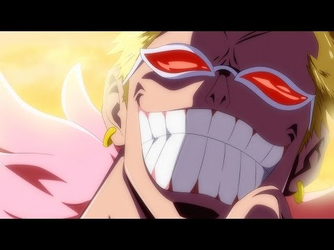 One Piece 753 Manga Chapter ワンピース Review -- Who The F#%& Is Doflamingo? + Donquixote Family Vs Luffy