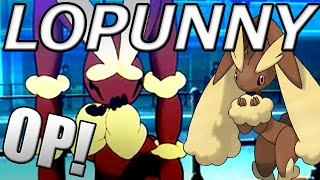 Lopunny and Mega Lopunny OP! Lopunny Moveset - Pokemon Omega Ruby and Alpha Sapphire / X&Y Guide
