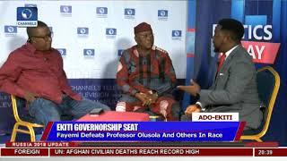 Adeyeye, Oguntuase Disagree Over Conduct Of Governorship Election  Politics Today 