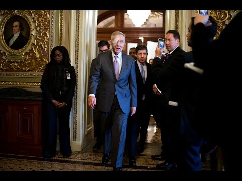 January 22, 2015 Harry Reid Press Conference