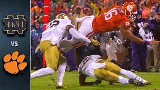 Notre Dame vs. Clemson Football Highlights (2015)