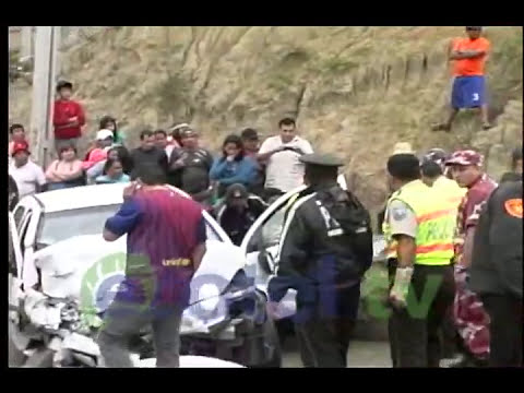 ACCIDENTE VIA A CUENCA