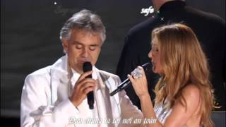 Céline Dion Andrea Bocelli The Prayer Vietsub