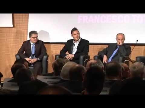 Francesco Totti, una gag tira l'altra con i presidenti delle big italiane...