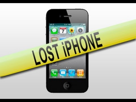 How to track/find your lost   iPhone   iPod Touch   or iPad