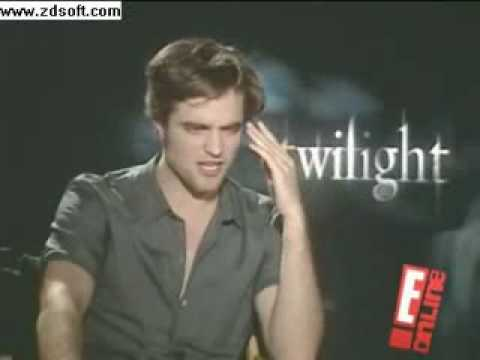 Robert Pattinson calls Stephenie Meyer Crazy