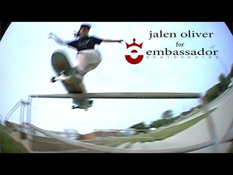 jalen oliver for embassador