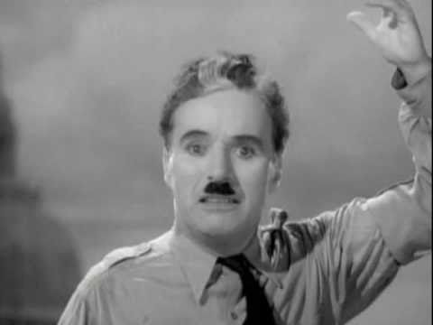 Charlie Chaplin Final Speech In The Great Dictator video