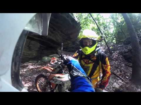 Highlights from Sunday on the Renfro Valley Dual Sport Event