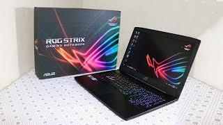 Unboxing of ASUS STRIX ROG GL503VM Gaming Laptop GTX 1060 - Review