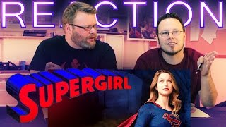 Supergirl First Look REACTION!!