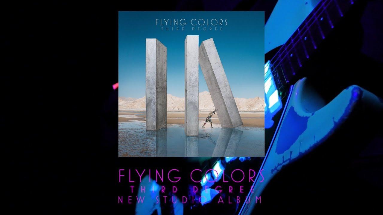 Flying Colors - Album Trailerを公開 新譜「Third Degree」2019年10月4日発売 thm Music info Clip
