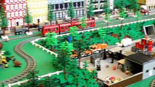 LEGO Copenhagen S-train at LEGO World 2010 Copenhagen