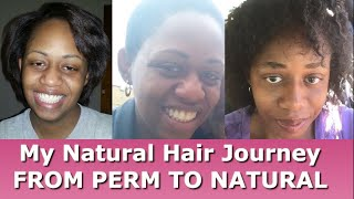 My Natural Hair Journey   From Perm To Natural