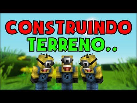 CONSTRUINDO TERRENO (Minecraft Machinima)