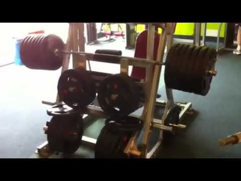 Shere Panjab Injection 800kg 10reps video