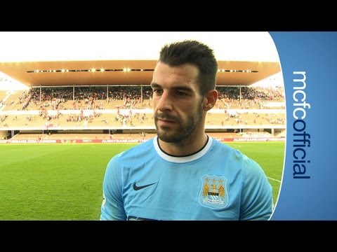 City 1-3 Arsenal: Alvaro Negredo reaction