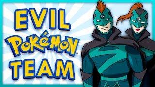 Team Ozone Appears! New Evil Pokemon Team Tag
