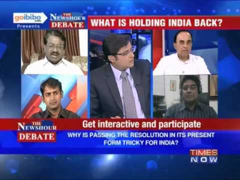 The Newshour Debate: Why is Sri Lanka's resolution tricky for India? (Part 1 of 2)