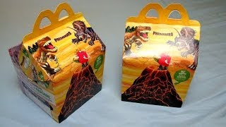 Happy Meal Dino Toys [Egg & Vulcano] - Predasaurs