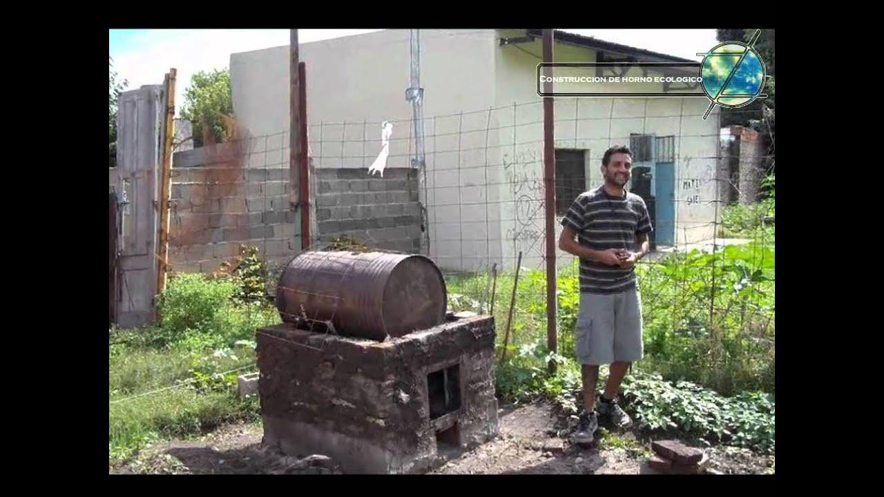 Construccion de horno ecologico youtube - Construccion de chimeneas de ladrillo ...