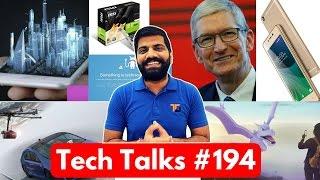 Tech Talks #194 - Jio Free WiFi, Nvidia GT 1030, Twitter down, Hologram, Drone Camera, Lava A77