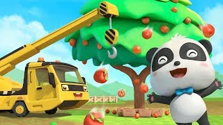 The Excavator Song | Construction Vehicles for Kids | Digger Cartoons | Super Rescue  Team | BabyBus